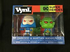 DC Super Heroes Darkseid & Martian Manhunter Vynl by Funko Brand New in Box