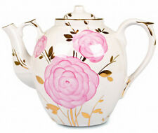 Porcelain Teapot 4.5 L Dulevo Porcelain Hand Painted Russia Spring Flowers Art