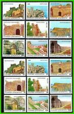 GREECE 1996 CASTLES + booklet STAMPS SC#1843-51 +a MNH CV$38.50 ARCHITECTURE