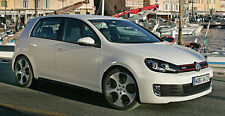 VW Golf Mk6 GTI  4 Door Sill Protectors / Kick plates (2009-2012)