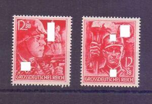 Deutsches Reich 1945 - Die beiden letzten Marken 909/910 - Michel 80,00 € (769)