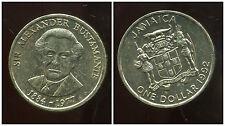 JAMAIQUE 1 dollar  1992  ( bis )