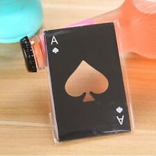 Mini Spade A Poker Card Beer Bottle Opener Stainless Steel Bottle Opener PRO#