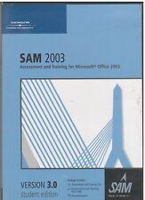 SAM 2003 (Computer Software, Version 3.0 Student Edition, 2003)