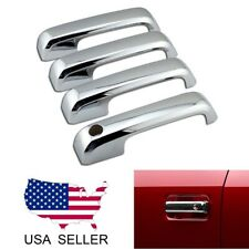 For 2017 2018 2019 Ford F250 F350 F450 Super Duty Chrome Door Handle Covers