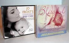 BLISSFUL BIRTH & Jo Frost's Confident BABY Care - 2 CD Audio Books