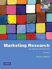 Marketing Research : An Applied Orientation 6E by SPSS and Malhotra 6th