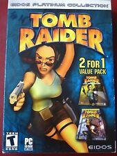 Video Game Pc Tomb Raider The Last Revelation & Chronicles New Sealed Box