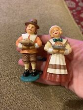 Midwest Importers Of Cannon Falls American Pilgrims Thanksgiving Set (Mg)