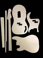 Guitar Template Set Precision Bass cnc made 100% accurate templates .