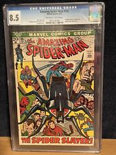 "Marvel Comics The Amazing Spider-Man #105 ""The Spider Slayer"" 2/72 - CGC 8.5"