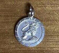 Leo Sterling Silver Zodiac Pendant  **Horoscope Pendant**