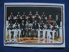 1980-81 Topps Team Pin-Ups Cleveland Cavaliers #4 team photo basketball NBA