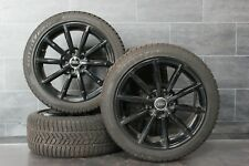 "Audi A4 8K B8 Jantes 18 "" Pirelli Hiver Jeu 245 40 r18 Noir"