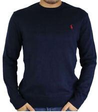 Pullover Ralph Lauren Blu 100% Originale Autunno/Inverno