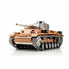 son et tir fonction RC TANK GERMAN TIGER 1:16 Combat Tank fernges Fumée
