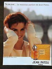 Rare Vintage 1993 Marie Claire Not Vogue Magazine Advert Jean Patou Sublime Ad