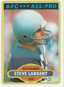 1980 Topps Steve Largent
