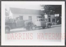 Vintage Photo 1950 GMC on Tow Truck New Pickup Delivery 733437
