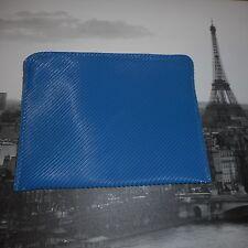 Vintage blue rubber GEAR like bag purse clutch 1980s swatch espirit