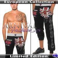 JOGGER PANTS MEN CASUAL trousers MENS JOGGER SLACKS GYM SPORTS long sweatpants S