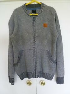 Boys BENCH Zip Fronted Cardigan Age 7 - 8 years
