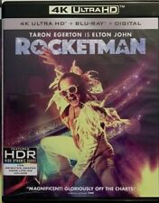 ROCKETMAN 4K ULTRA HD BLU RAY 2 DISC SET FREE WORLD WIDE SHIPPING BUY IT NOW