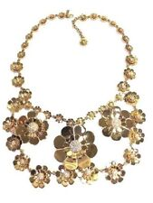 Kate Spade Say It With Roses Statement Necklace NWT RARE Featured in FashionMags