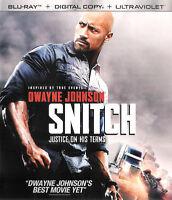 Snitch ~ Blu-ray + Digital Copy; UltraViolet ~ FREE Shipping USA
