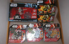 LARGE LOT STAR WARS- AIR HOG DEATH STAR VS X WING, FIGURES & PLAYSETS, ALL NIBS.