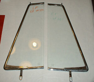 Mercedes-Benz 1968 W110, 200, 230,200D, Front vent window glass, right side