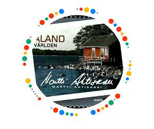 ALAND  2009 President  Martti Ahtisaari Places Summer MNH Unused stamp | Finland