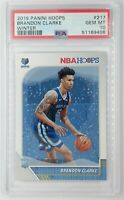 2019 Panini Hoops Winter Brandon Clarke Rookie RC #217, Graded PSA 10, Pop 19