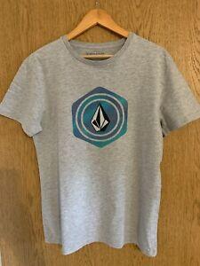 T-Shirt Herren Volcom grau Kurzarm Größe M gebraucht