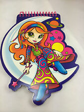 Lisa Frank Groovy Girl Small Pad of Paper Spiral Notepad