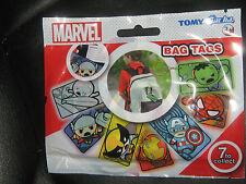 Marvel / Tomy Gacha Bag Tags