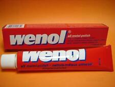 100 GRAM TUBE WENOL METAL POLISH CLEANER ALL FOR BRASS COPPER STAINLESS STEEL