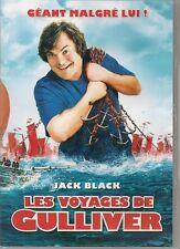 DVD ZONE 2--LES VOYAGES DE GULLIVER--BLACK/SEGEL/BLUNT/PEET/CONNOLLY/LETTERMAN