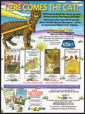 HERE COMES THE CAT__Orig 1994 Trade Print AD promo__WOOD KNAPP_Children's Circle