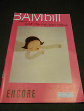 OCT. 2002 BAMBILL - ENCORE-  21 & O CORPO, BROOKLYN ACADEMY OF MUSIC