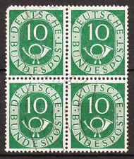 BRD 1951 52 Mi. Nr. 128 4er Gestempelt LUXUS!!! (2358)