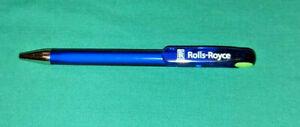 Rolls Royce branded ball point pen blue