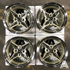"Autostar 14"" x 8"" Kanji 4x100 et-5 alloys fit Mazda Mx5 Civic Micra Vw Polo Golf"