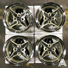 "Autostar 14"" x 8"" Kanji  4x100 et-5 alloys Mazda Mx5 Civic Micra Vw Polo Golf"