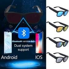 Polarized Sunglasses bluetooth Smart Glass Headset Music Stereo bara #rui