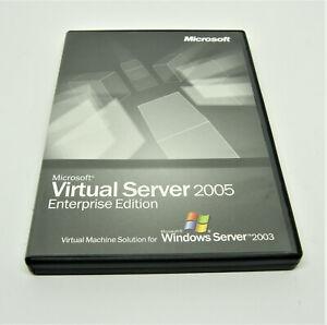 Microsoft Virtual Server 2005 Enterprise Edition - CD and Key