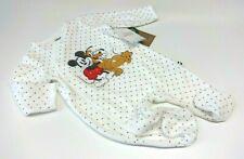 Baby Strampler Größe 50 56 62 68 Junge Micky Maus Disney Schlafanzug Bio BW Samt