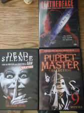 PUPPET MASTER DVD COLLECTION 9 Movies Dead Silence Leatherface: Texas Chainsaw 3