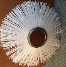 ERSATZBÜRSTE 1  Stk  D = 35 cm Kehrbürste weiß  f. GÜDE oder Huricane