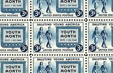 1948 - YOUTH MONTH - #963 Full Mint -MNH- Sheet of 50 Postage Stamps